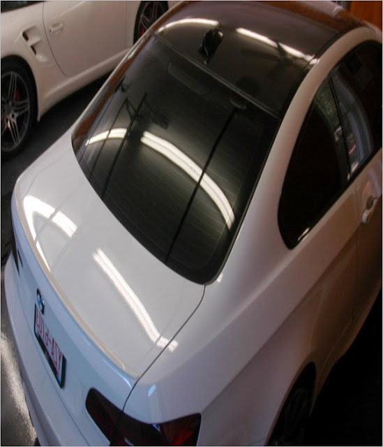 Back Car WINDOW TINT Legal