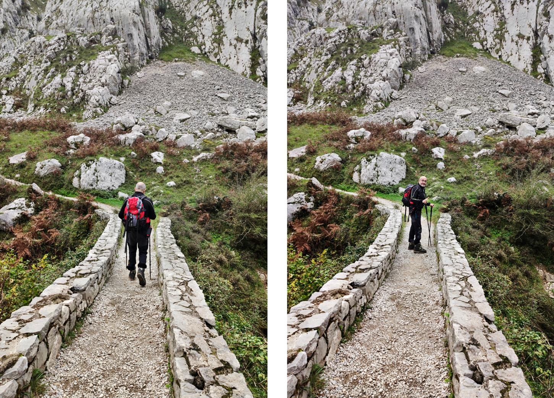 cruzando el puente de la jaya