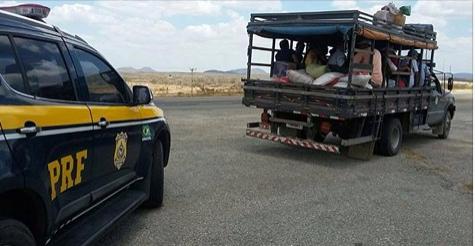ROMARIAS: PRF alerta para a necessidade de deslocamentos em transportes seguros