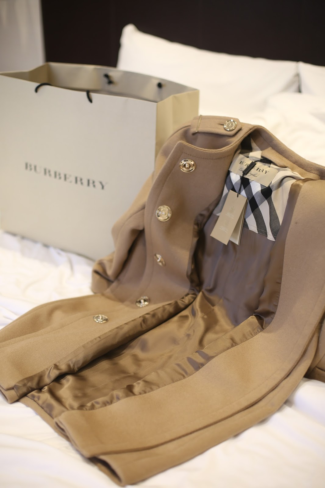 burberry coat designer outlet