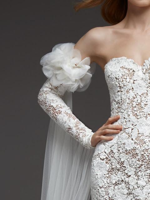 K;Mich Weddings - wedding planning - wedding dresses - carina - pronovias - fall 2019 collection