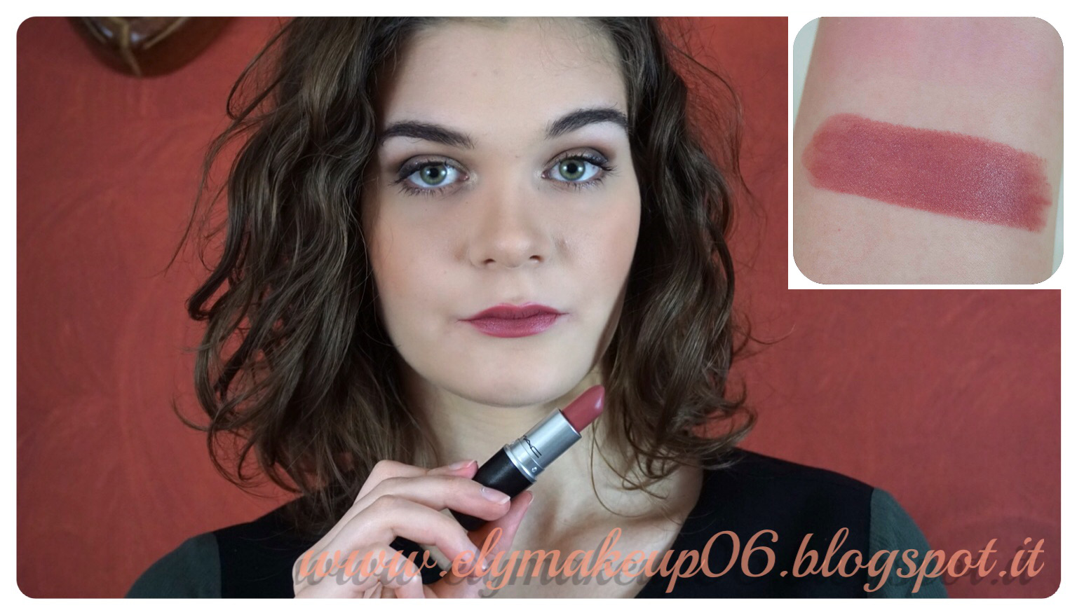 Favoloso ElyMakeup: My Mac Lipstick Collection | I Miei Rossetti Mac Swatch  TS56