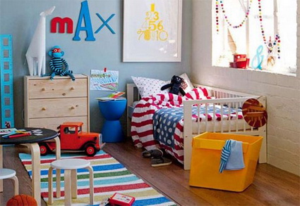 Ideas for decorating boys rooms 2