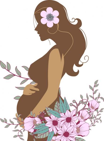 dibujos, gráficos, clipart de mujeres embarazadas