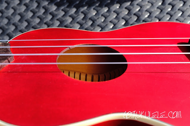 Fender Venice Sopano Ukulele top