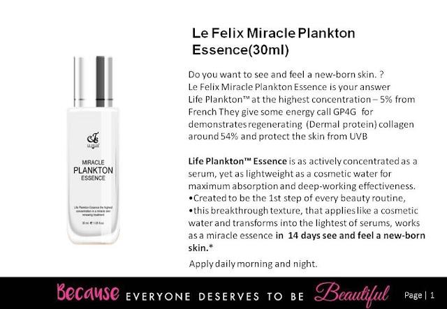 La Felix Miracle Plankton Essence