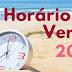 Horário de Verão começa neste domingo (15), em três regiões do país