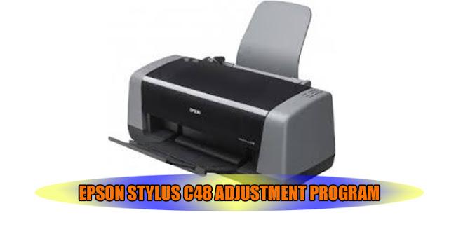 Epson Stylus C48 Printer Adjustment Program