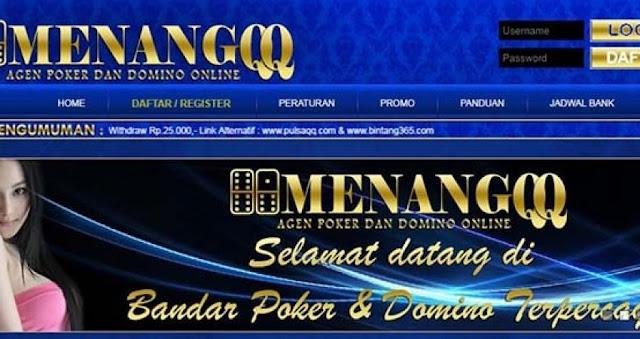 Menang-qq.co BandarQ AduQ dan Domino QQ Online Terpercaya