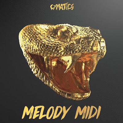 Cover do Cymatics - Melody MIDI (MIDI Kit)