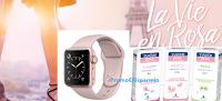 Logo Concorso ''La Vie en Rosa'': vinci 36 Apple Watch Rosa e 1 viaggio a Parigi