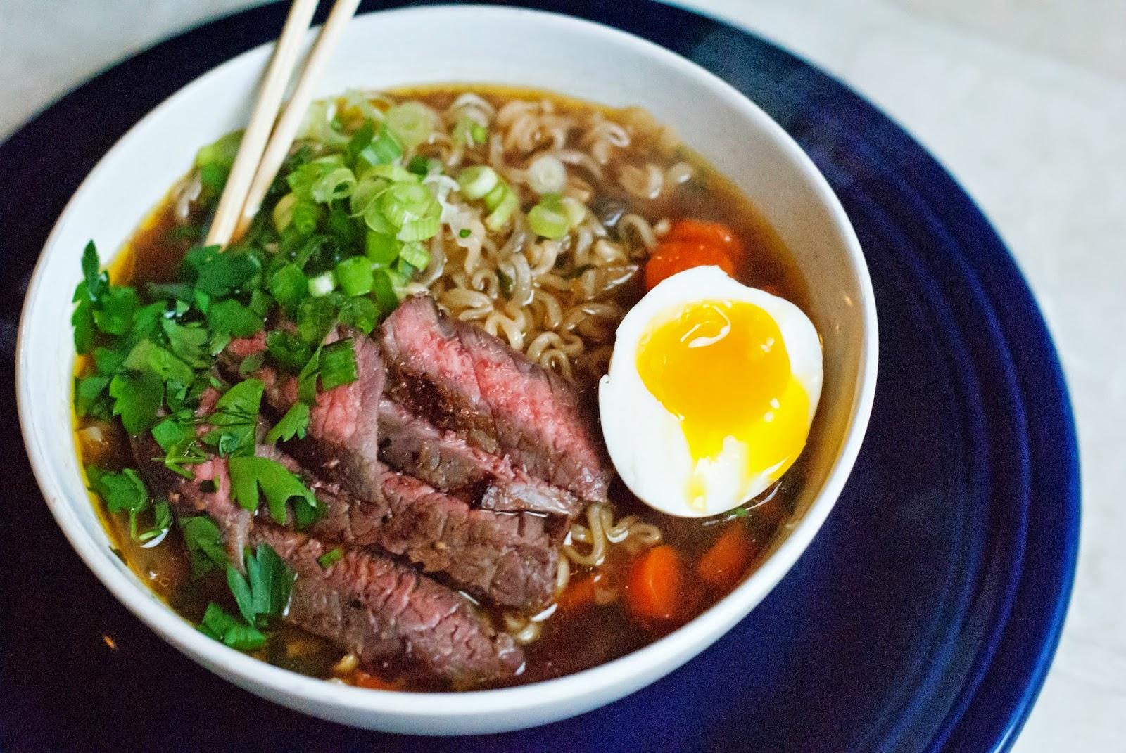 Ali à La Mode Beef Ramen Noodle Soup