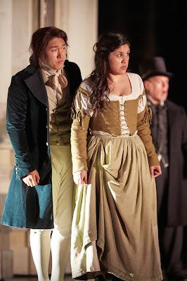 Mozart: Le nozze di Figaro - Kangmin Justin Kim, Yaritza Veliz - Royal Opera (C) ROH 2019 photo by Mark Douet