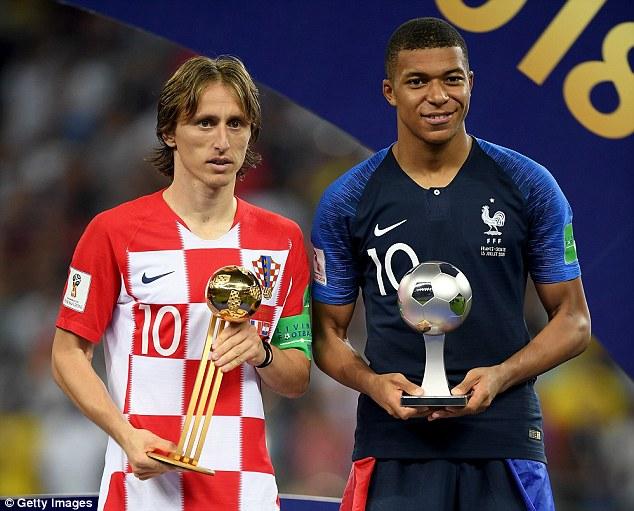Modric Pemain Terbaik, Mbappe Pemain Muda Terbaik