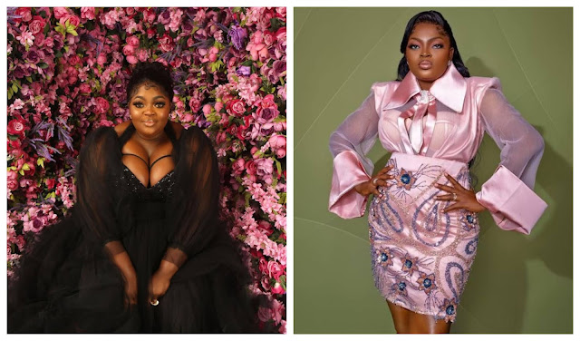 Eniola Badmus shows off the Naira notes Funke Akindele Gifted her on her 44th birthday (Video)