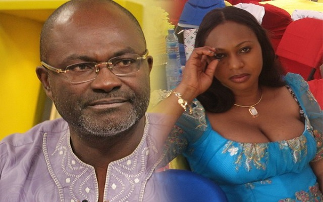Ken Agyapong and Adwoa Safo