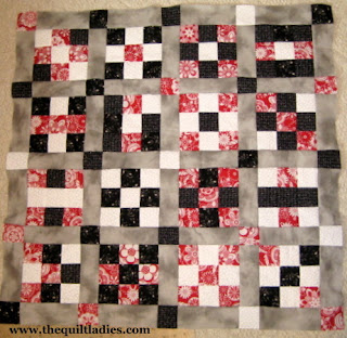 How to Make a Square Quilt with only SQUARE'S, Part 2 Nine patch quilt blocks