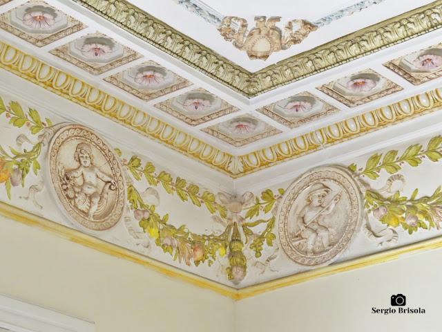 Palacete Basílio Jafet (Rodateto da Sala de Jantar - detalhes)