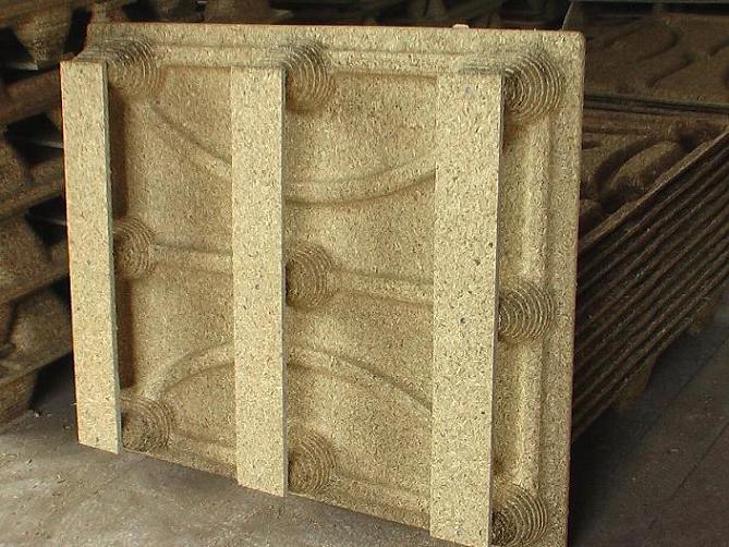pallet press wood