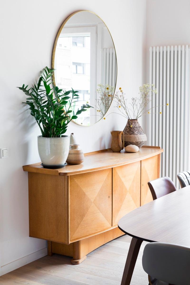 Un appartamento in stile scandi boho