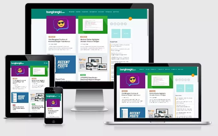 Bung Frangki Template Blogger Responsive Premium