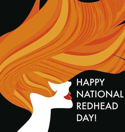 National Redhead Day Wishes Beautiful Image
