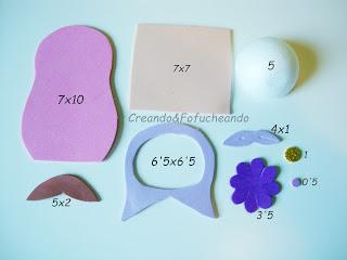 piezas-y-medidas-matrioska-bola-numero-5-cartel-con-fofuchas-matrioskas-en-goma-eva