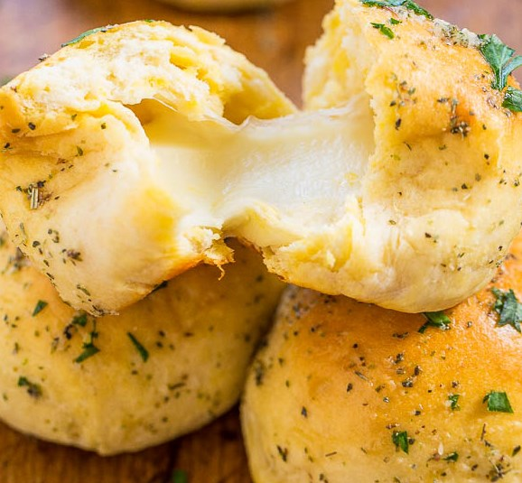 Easy Cheese Bomb Bread #dinner #lunch