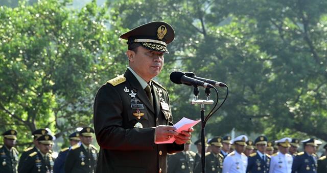 Mabes TNI Gelar Upacara Peringatan Hari Lahir Pancasila