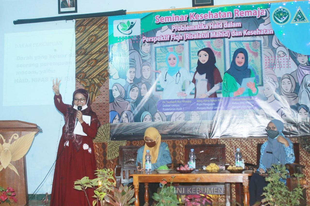 Problematika Seputar Haid Diseminarkan PAC IPPNU Kecamatan Ayah