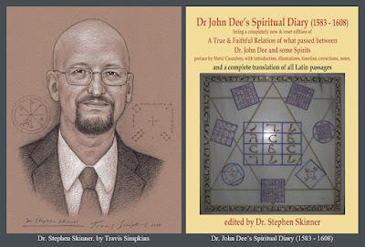 Stephen Skinner. Dr John Dee's Spiritual Diary. Enochian Angel Magic. Ceremonial Magick. by Travis Simpkins