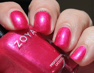 Zoya Paradise Sun Collection swatch of Mae