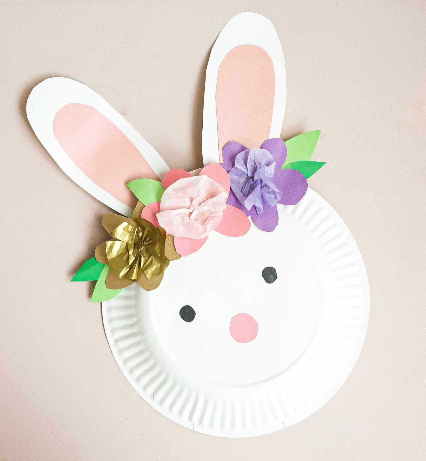 kids paper plate craft