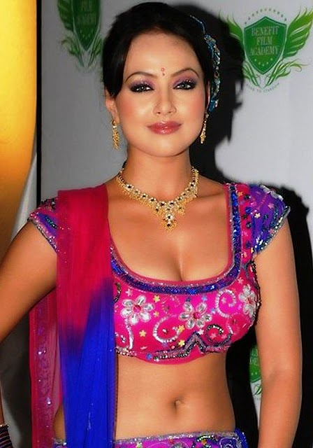 Indian-Popular-Bhabhi-In-Saree