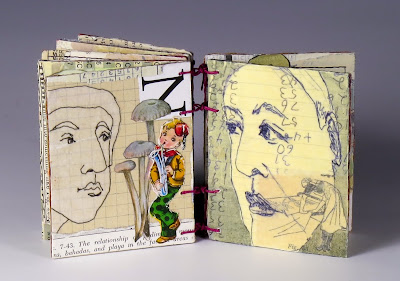 Seeing and Seen artist book by Judith Hoffman