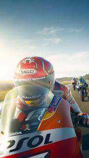 MotoGP 17 Racing Bike Mobile HD Wallpaper