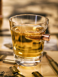 Gift for guys - Real Bullet Shot Glass