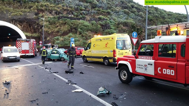Fallece un joven en un accidente en Santa Cruz de La Palma