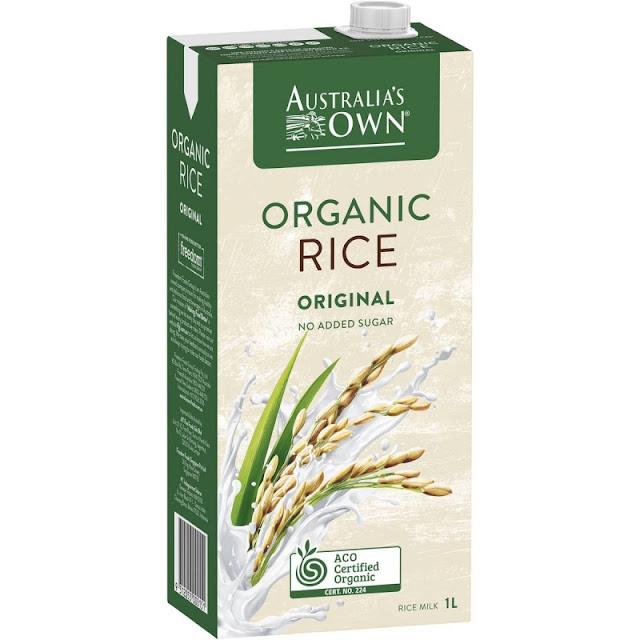 Australia's Own Organic Rice Milk