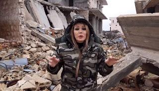 إعلامية موالية تفضح ما فعلته ميليشيا أسد في بلدة بريف إدلب! (فيديو)