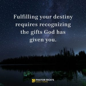 What to Do with What You're Given by Rick Warren