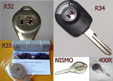 Nissan Skyline keys and key cutting R32 R33 R34