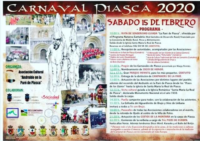 Carnaval de Piasca 2020