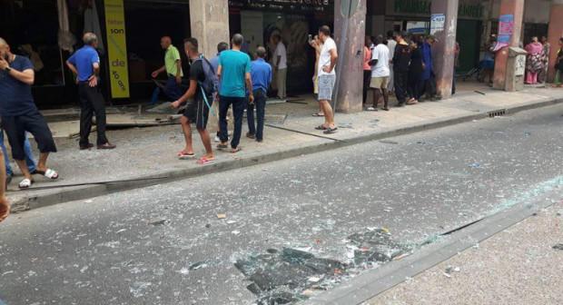 عاجل :انفجار مهول يهز الدار البيضاء ويخلف جرحى