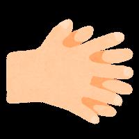 手指消毒のイラスト5