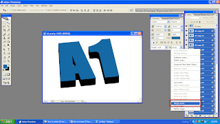 create simple 3D text in Photoshop-07