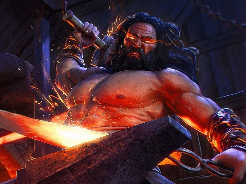 Hefesto: O Ferreiro Coxo e Mestre Metalúrgico Dos Deuses