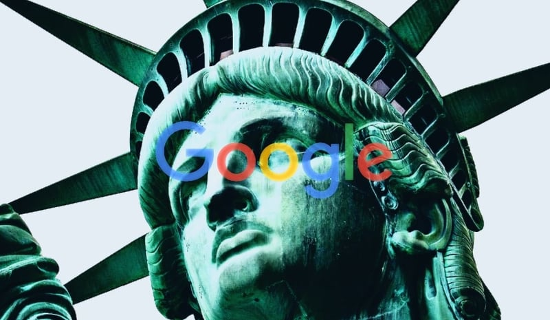 United States antitrust lawsuit Google.