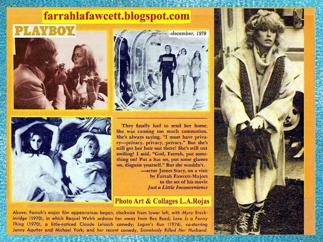 1978 Dec Farrah Playboy Part 2 | Farrah La Fawcett