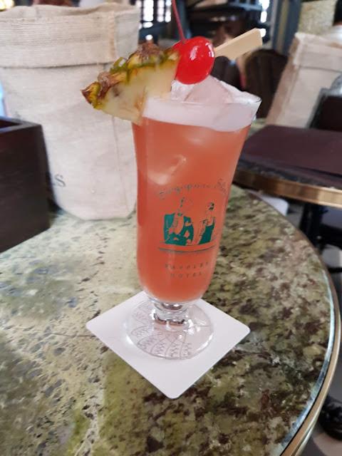 Singapore Sling al Bar del Raffles hotel-Singapore